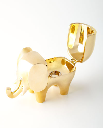 Brass Elephant Box