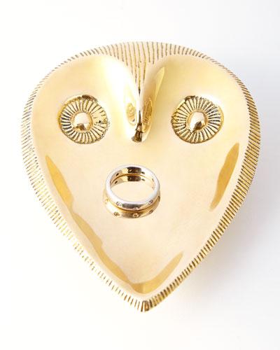Jonathan Adler Brass Owl Dish