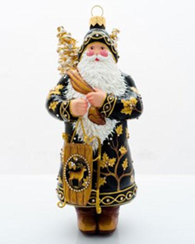 Patricia Breen Oakley Santa Ornament