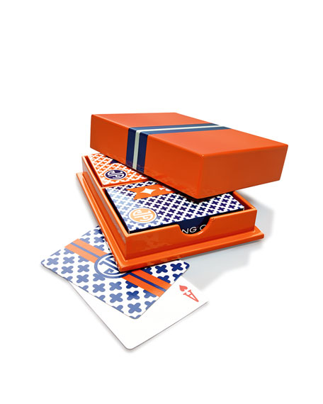 Lacquer Card Box & Cards