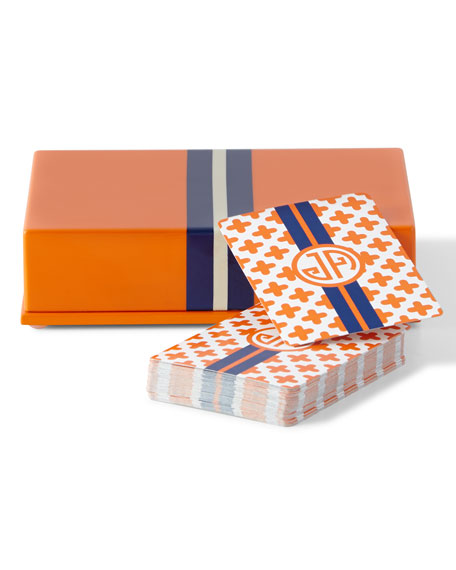 Jonathan Adler Lacquer Card Box & Cards