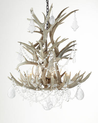 Stag Eight-Light Chandelier