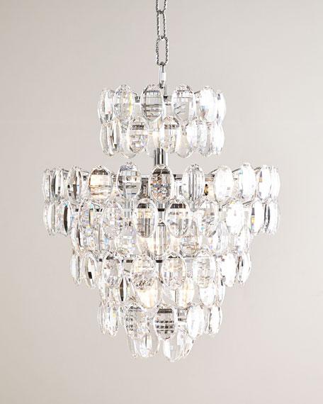 Exuberance 14-Light Crystal Chandelier