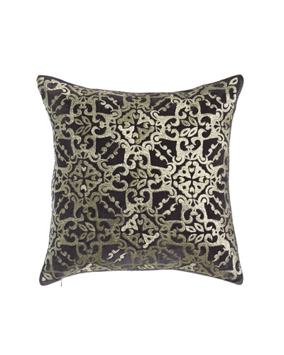 Cosmopolitan Chic Tile Pillow