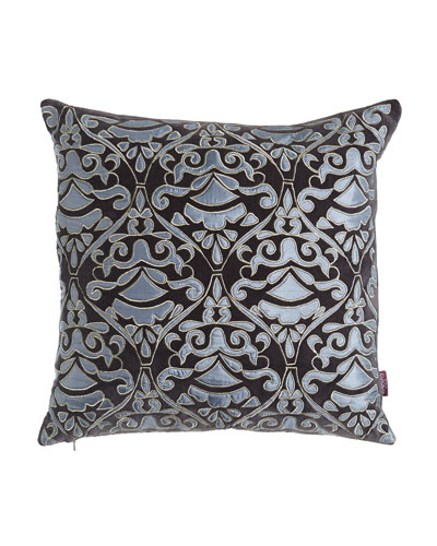 Cosmopolitan Chic Damask Pillow
