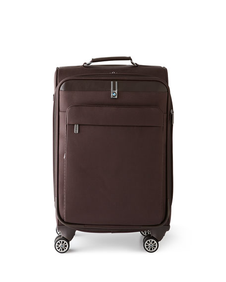 "Brown 20""T Carry-On Spinner"