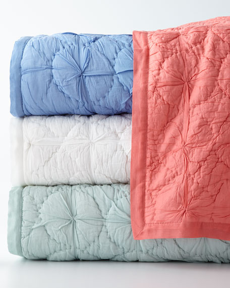 Pine Cone Hill Twin Marina Voile Quilt