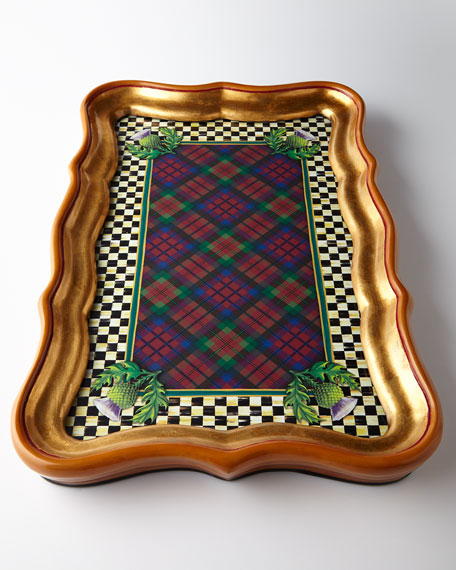 MacKenzie-Childs Highland Large Tray