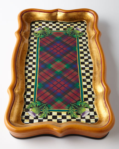 MacKenzie-Childs Highland Small Tray