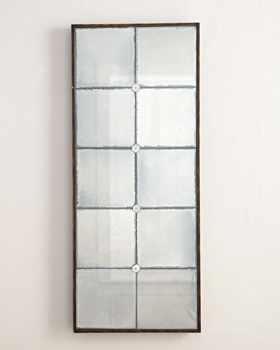 Mirrored wall panels