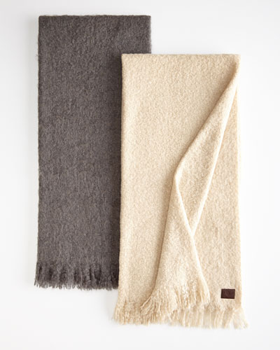 Luxe Mohair Throw