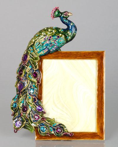 "Peacock 3"" x 4"" Frame"