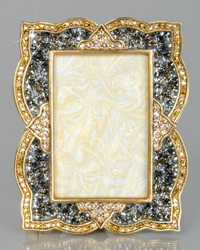 "Pave Scallop 2"" x 3"" Frame"