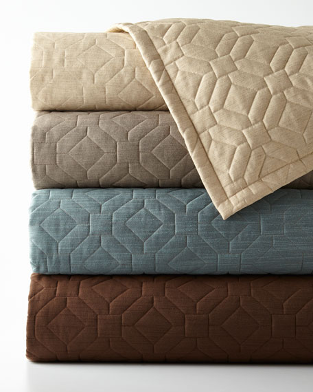 Dian Austin Couture Home Couture Queen Geometric Quilt