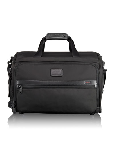 Tumi Alpha 2 Black Framed Soft Duffel