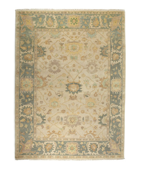 Exquisite Rugs Shelton Oushak Rug