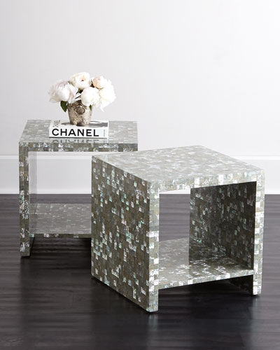 Abalone Side Table
