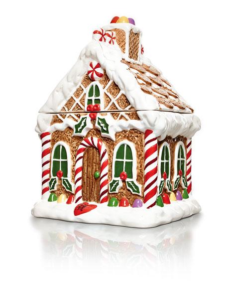 Creative Home Gingerbread House Cookie Jar