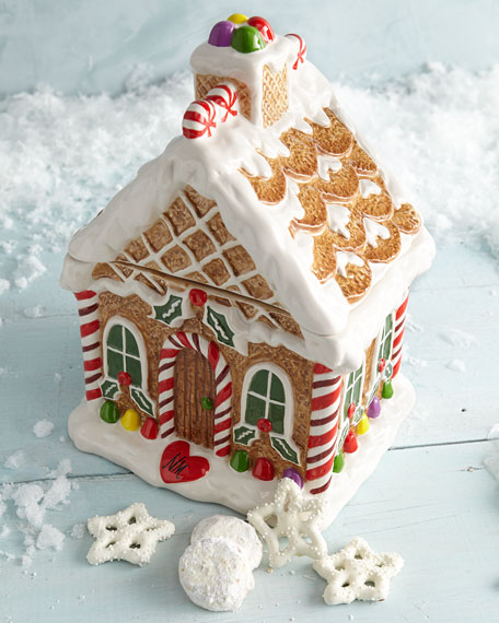 Gingerbread House Cookie Jar