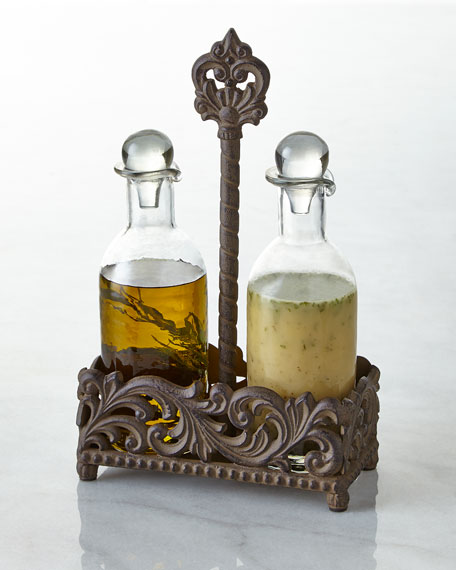 G G Collection Oil & Vinegar Set