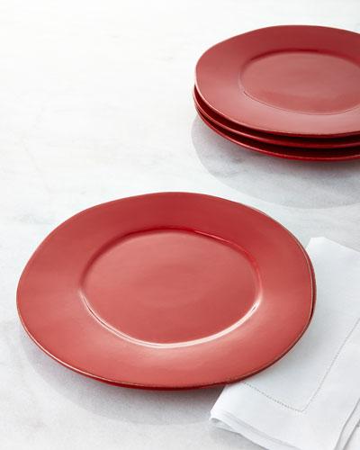 Vietri Four Lastra Dinner Plates