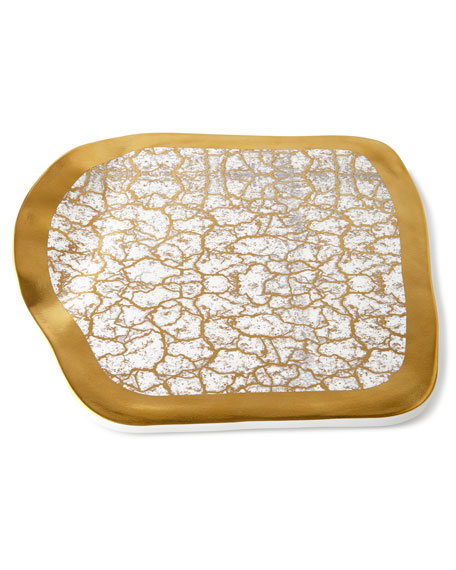 Michael Wainwright Tempio Luna Gold Cheese Tray