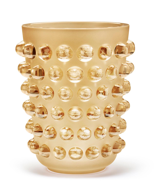 Lalique Xxl Mossi Vase Neiman Marcus