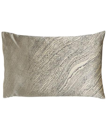 Donna Karan Home Modern Pulse Standard Textured Jacquard