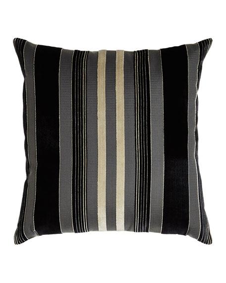 """Dashiell Striped Pillow, 24""""Sq."""