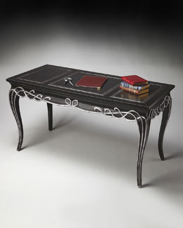 Tooled-Top Desk