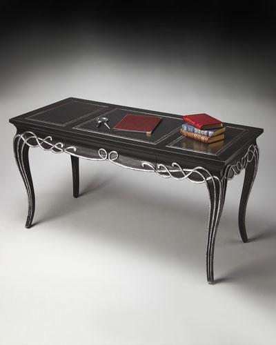 Tooled-Top Desk