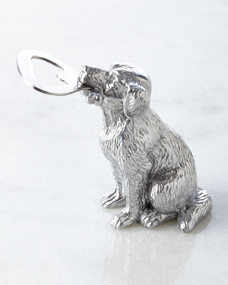 Arthur Court Designs Labrador Bottle Opener