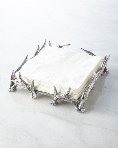 Antler Luncheon Napkin Holder