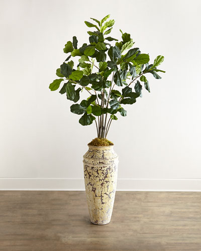 Fiddle Leaf Fig Faux Greenery