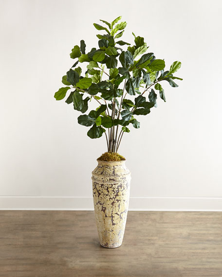 John-Richard Collection Fiddle Leaf Fig Faux Greenery