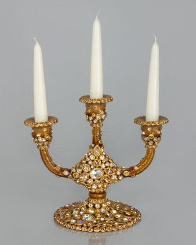 Bejeweled Candelabra
