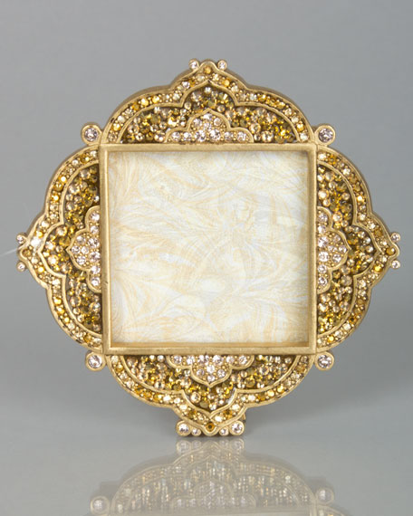 Jay Strongwater Pave Diamond 2 Quot Square Frame