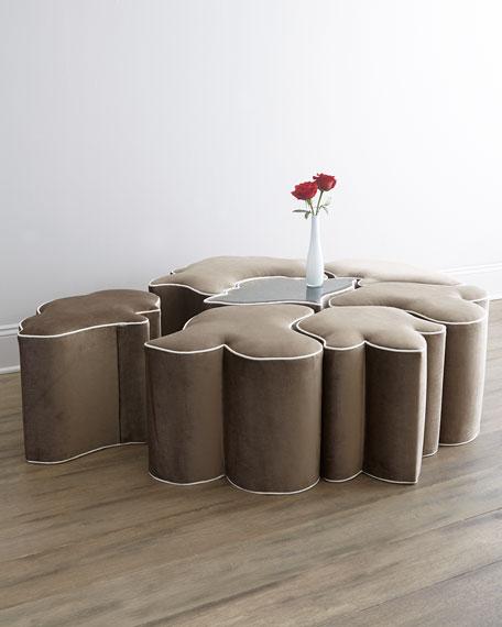 haute house ella ottoman neiman marcus. Black Bedroom Furniture Sets. Home Design Ideas