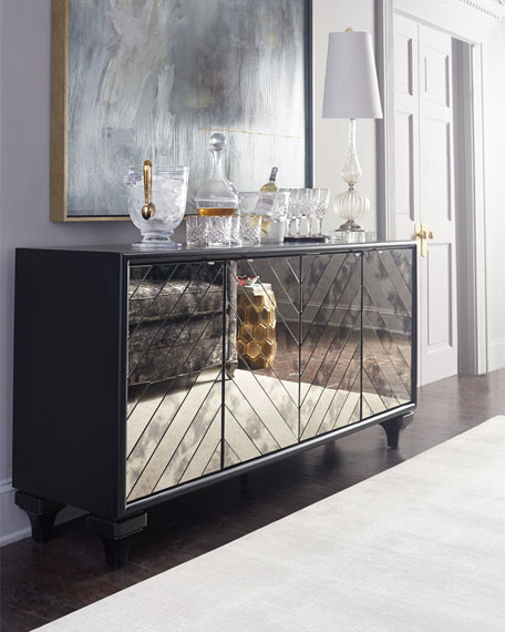 Libby Mirrored Sideboard