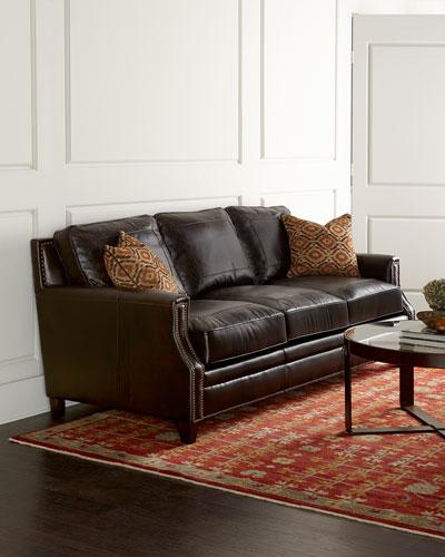 Brenton Leather Sofa