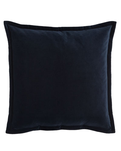 Ralph Lauren Home Blue Velvet European Sham