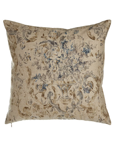 "Ralph Lauren Home Floral Pillow, 18""Sq."