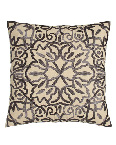 Marlena Lace Embroidered Pillow
