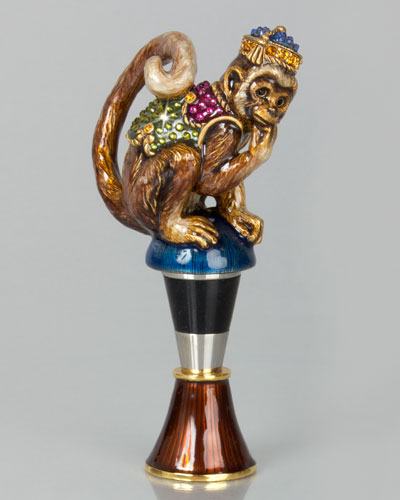 Monkey Wine Stopper