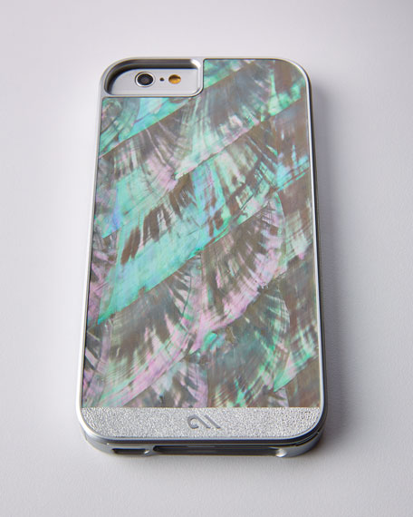 Image 1 of 1: Mother-of-Pearl iPhone 6 Case