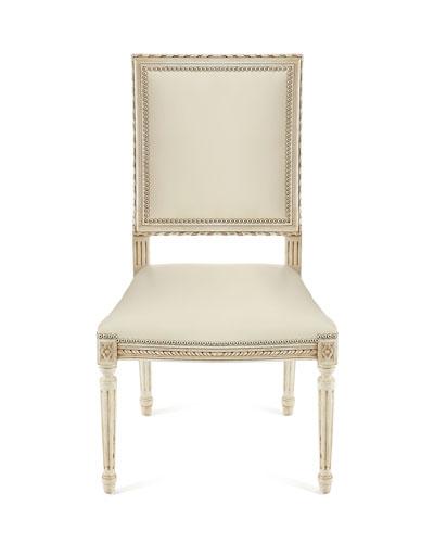 Massoud Melissa Leather Dining Chair