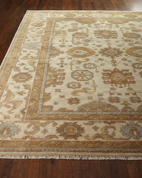 Exquisite Rugs Atlee Oushak Rug, 10' x 14'