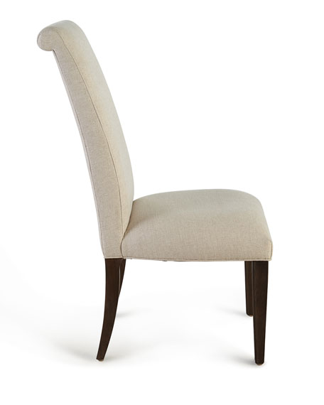Two Lenore Upholstered Side Chairs
