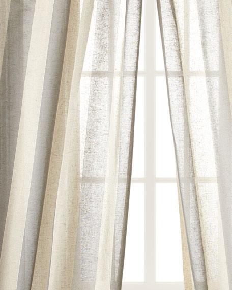 """Each 96""""L Seagrove Stripe Curtain"""