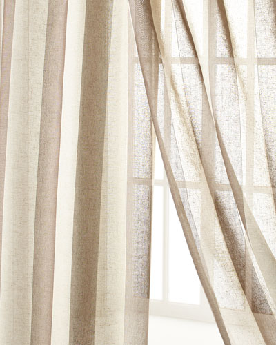 "Each 96""L Seagrove Stripe Curtain"
